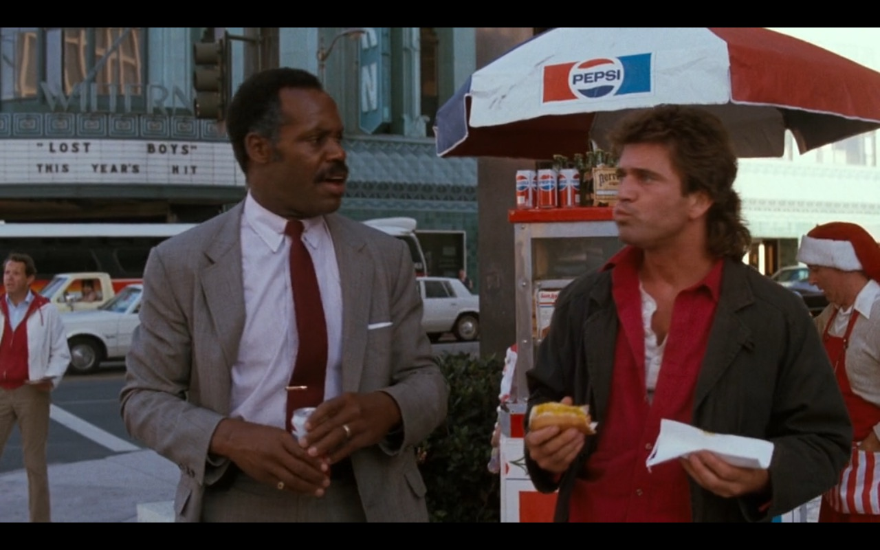pepsi � lethal weapon 1987 movie scenes