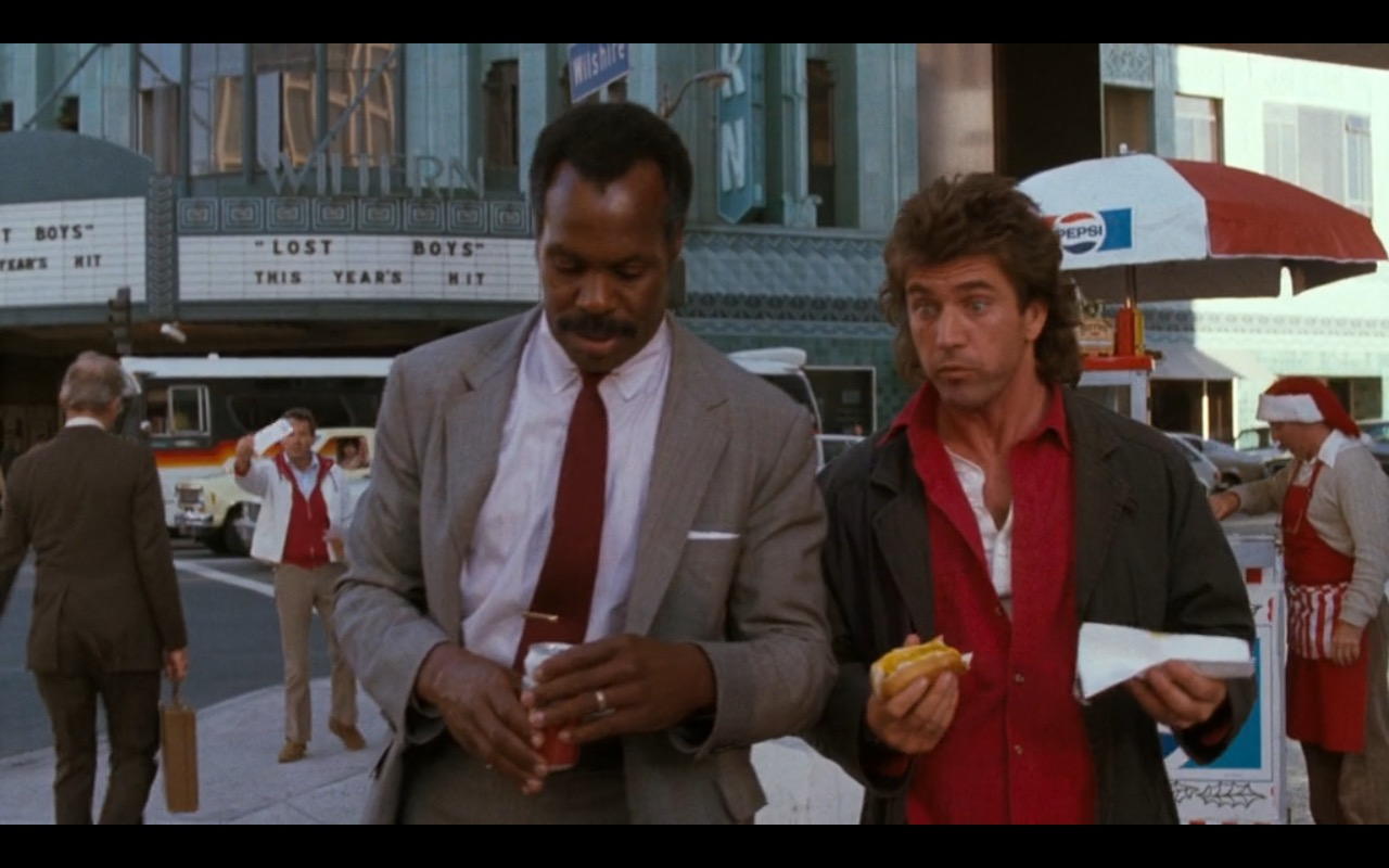 Pepsi Lethal Weapon 1987 Movie