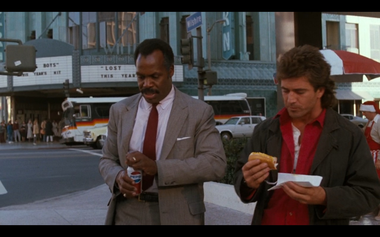 Pepsi - Lethal Weapon (1987) Movie Product Placement