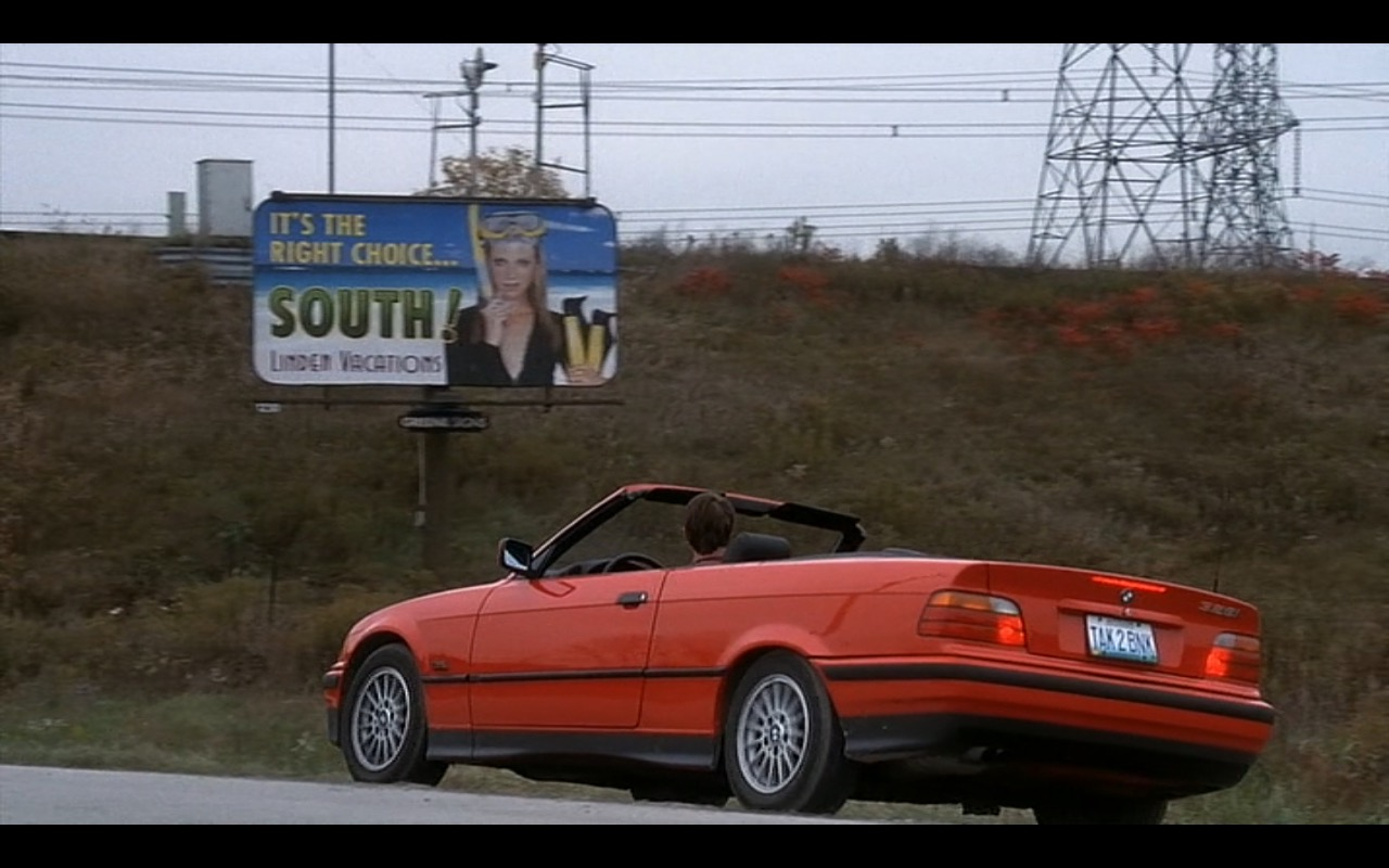 Red BMW 328i - Interstate 60: Episodes of the Road (2002) Movie Product Placement
