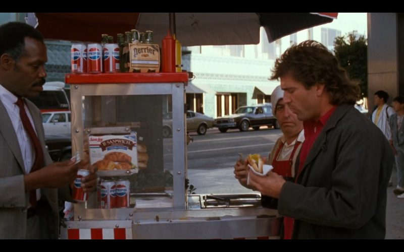 Sara Lee + Pepsi - Lethal Weapon (1987) Movie Product Placement