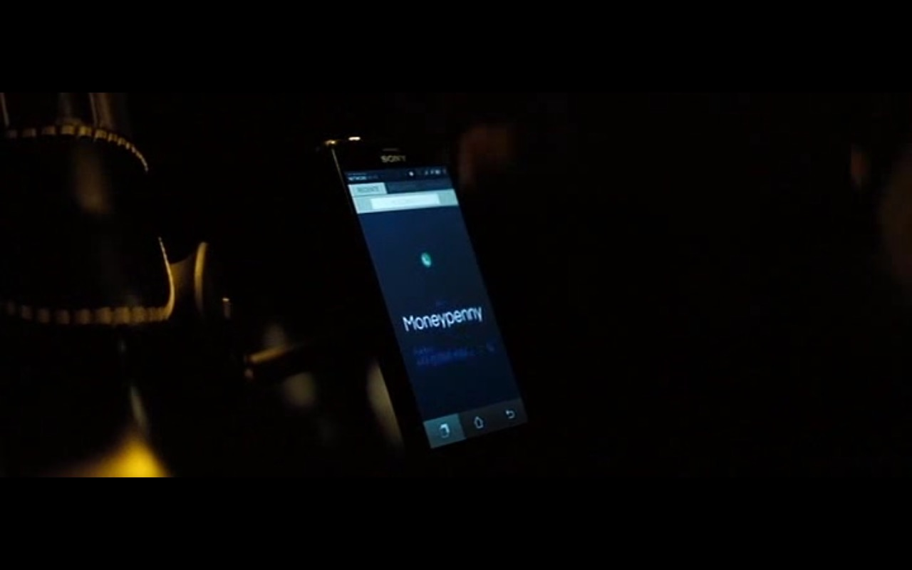 Sony Smartphone – Spectre (2015) Movie Product Placement