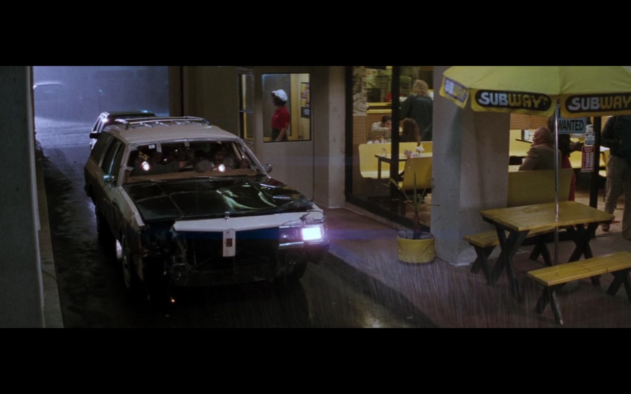 Subway Restaurant - Lethal Weapon 2 (1989) Movie Product Placement