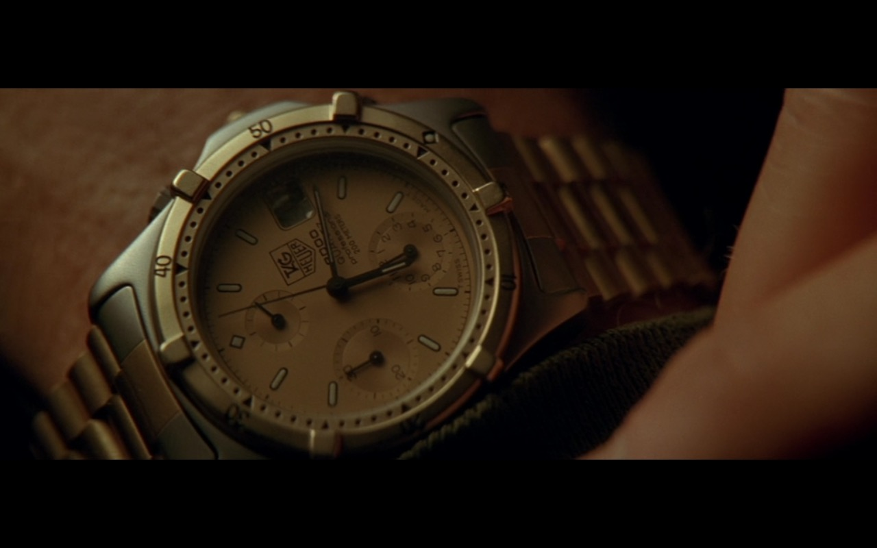 TAG Heuer Watches For Men – Die Hard 2 (1990) Movie Product Placement