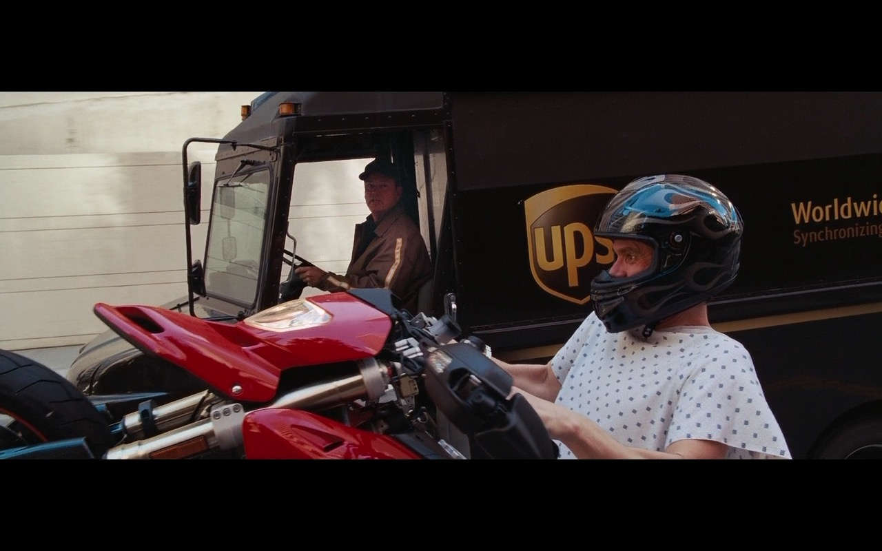UPS – Yes Man (2008) Movie Product Placement