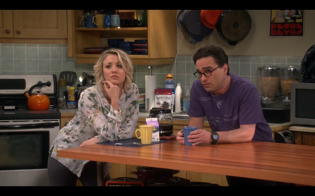barkTHINS - The Big Bang Theory TV Show Product Placement