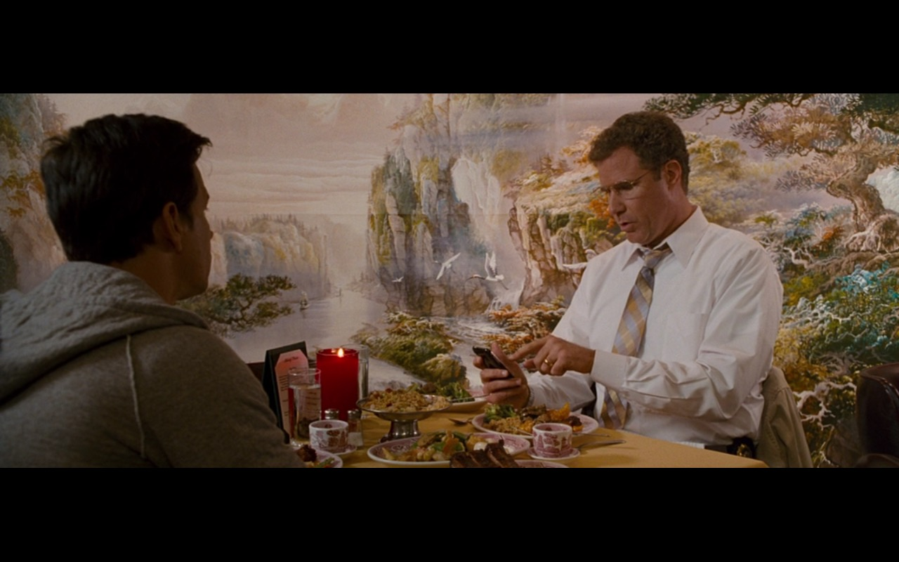 AT&T and Apple iPhone 3G/3Gs - The Other Guys (2010) Movie Product Placement
