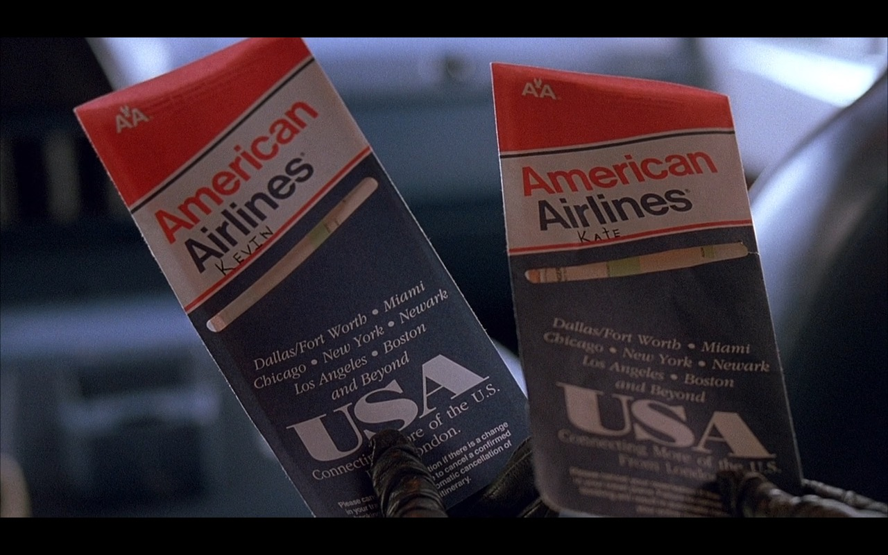 American Airlines Home Alone 2 Lost In New York 1992