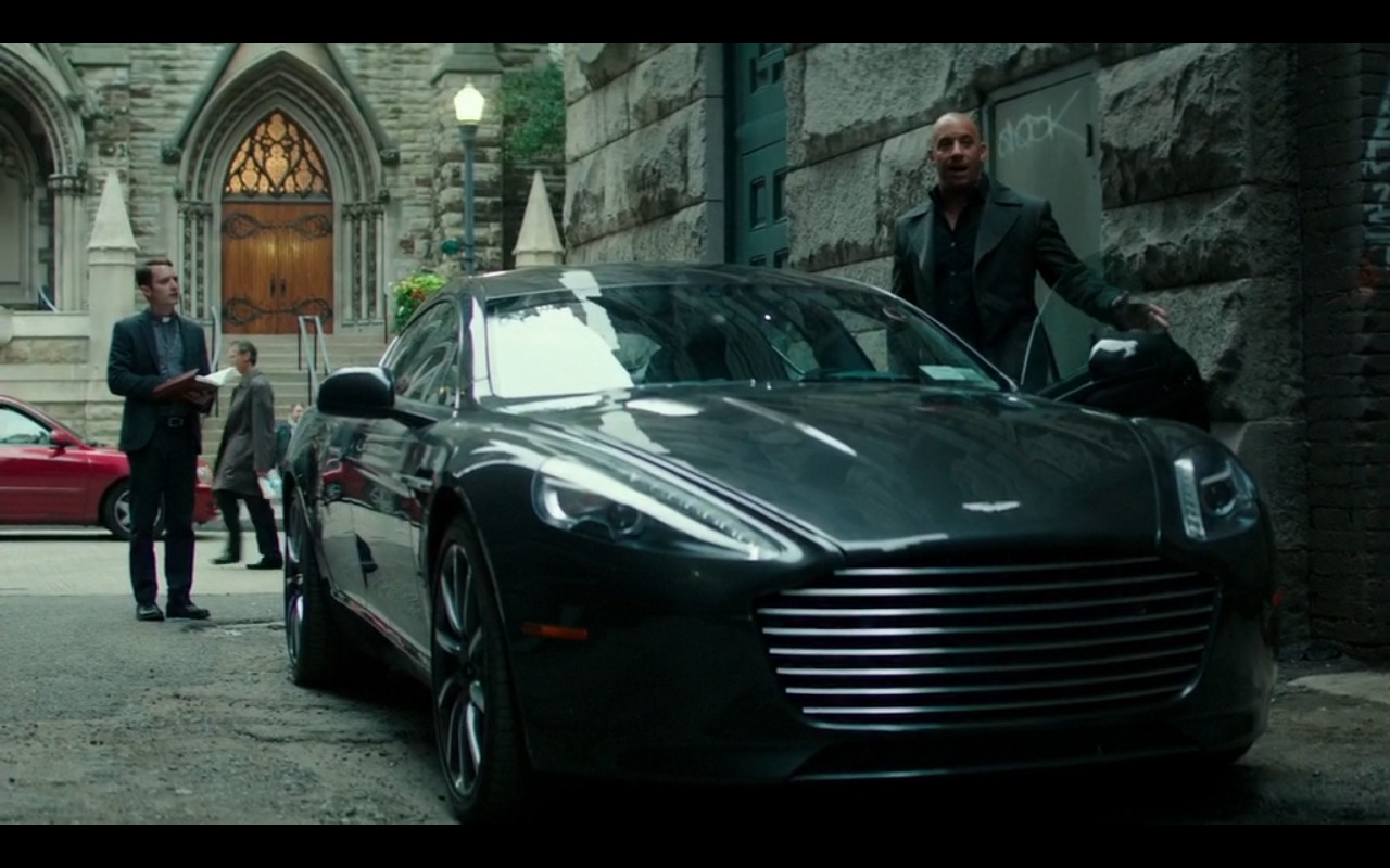 Aston Martin Rapide S The Last Witch Hunter 2015 Movie