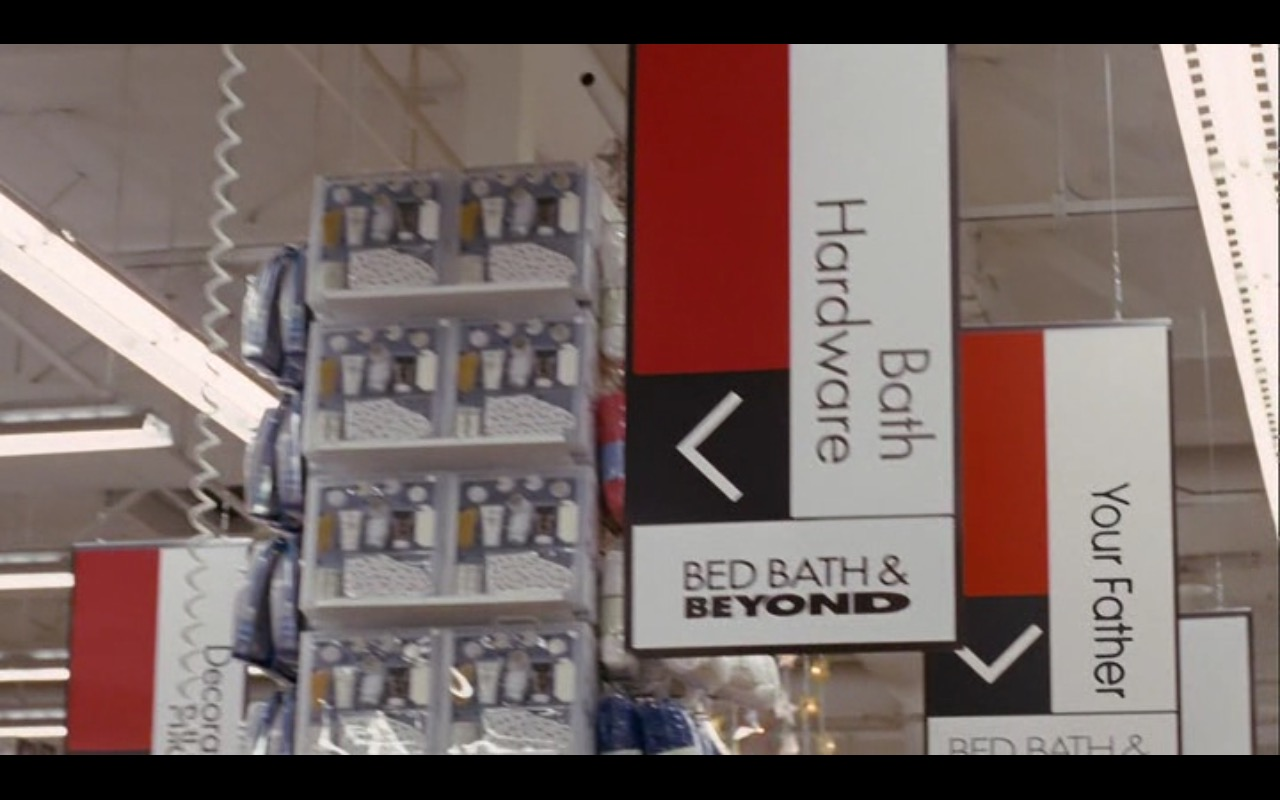 Bed Bath & Beyond Product Placement in Bewitched 2005 Movie (2)
