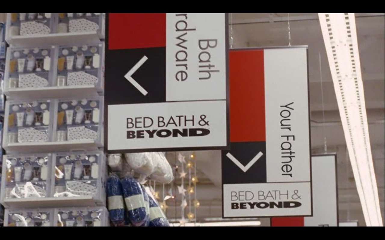 Bed Bath & Beyond Product Placement in Bewitched 2005 Movie (3)