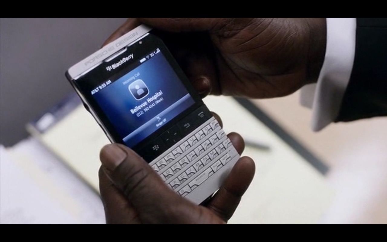 AT&T and BlackBerry - Anesthesia (2015) - Movie Product Placement