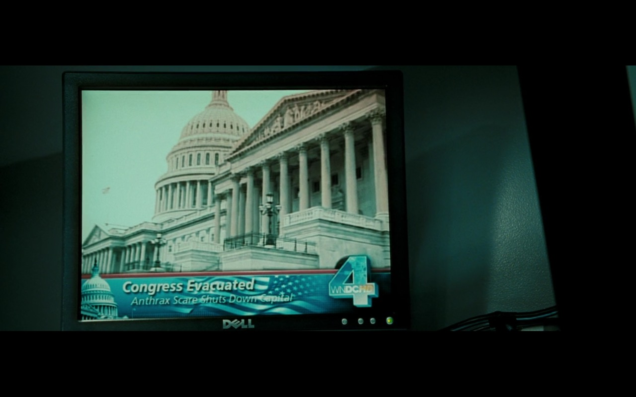 DELL Monitor – Live Free or Die Hard (2007) Movie Product Placement