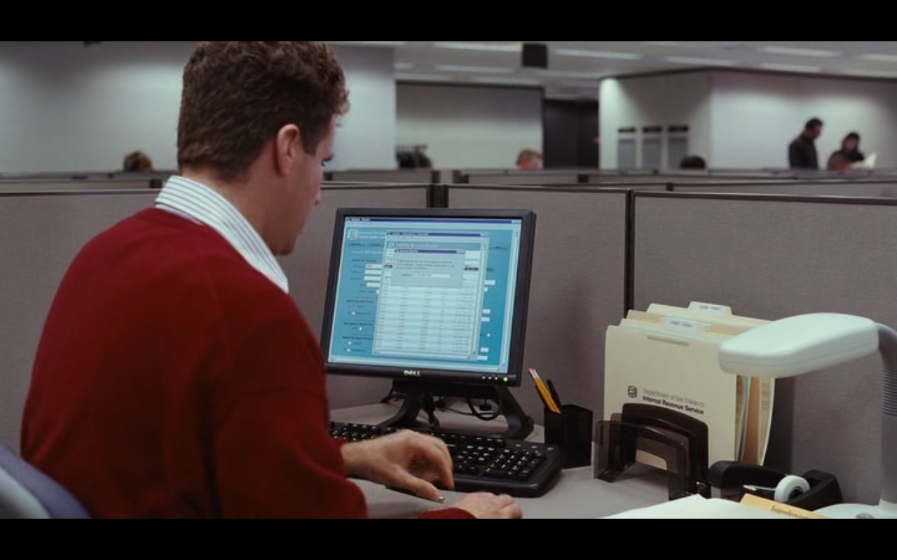 DELL - Stranger Than Fiction (2006) - Movie Product Placement