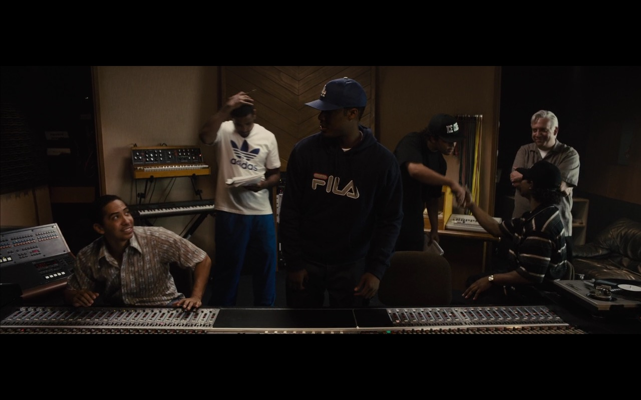 Fila and Adidas – Straight Outta Compton (2015) Movie Product Placement