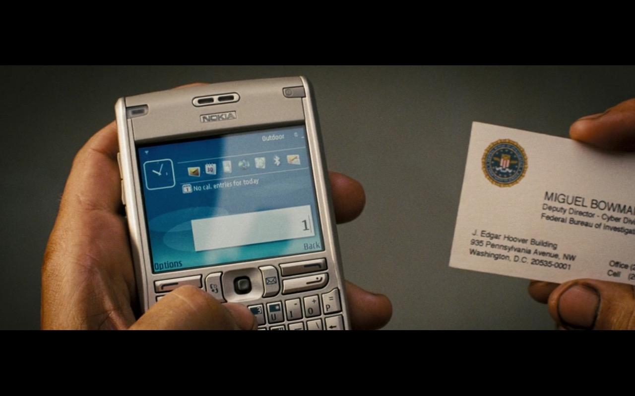 Nokia E62 – Live Free or Die Hard (2007)