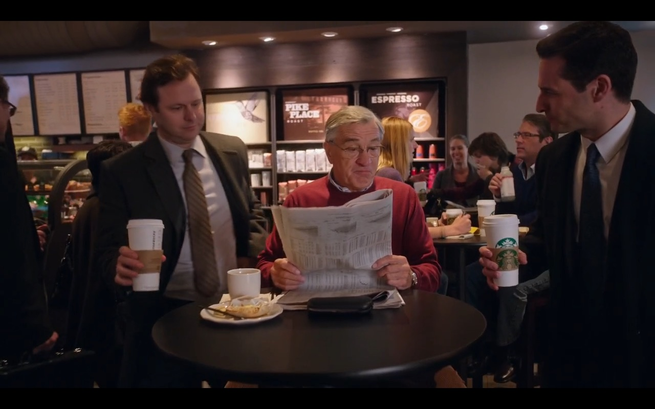 Starbucks – The Intern (2015) Movie Product Placement