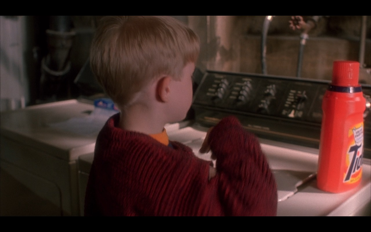 Tide – Home Alone (1990) Movie Product Placement