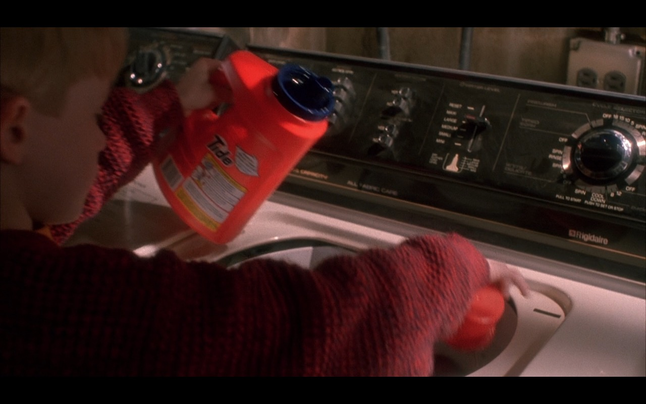 Tide – Home Alone (1990) - Movie Product Placement