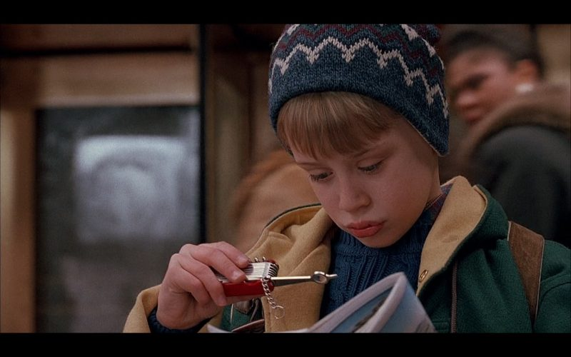 Victorinox Knife – Home Alone 2 Lost in New York 1992 (1)