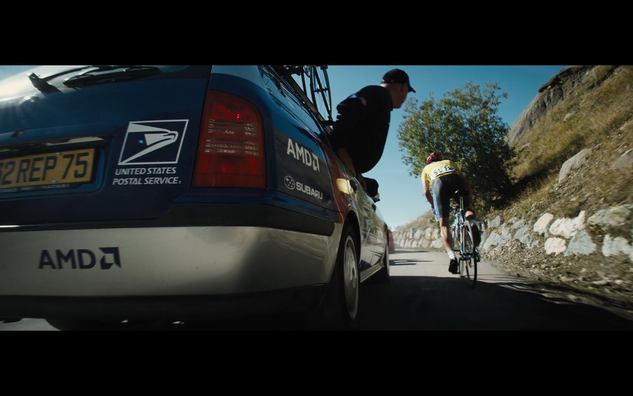 AMD, Subaru and United States Postal Service - The Program (2015) Movie Product Placement