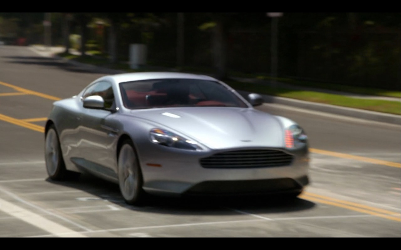 Aston Martin DB9 - Episodes TV Show Product Placement