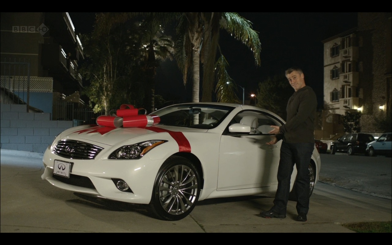 Infiniti G37 - Episodes TV Show Product Placement