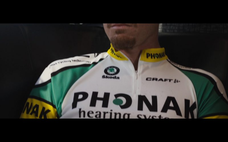 Phonak, Škoda and Craft – The Program (2015) Movie Product Placement