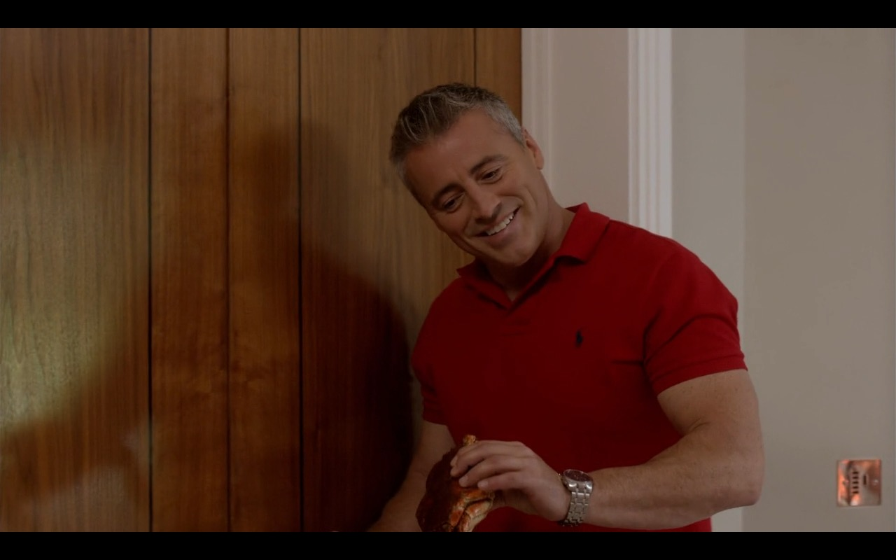 Ralph Lauren Red Polo Shirt – Episodes TV Show Product Placement