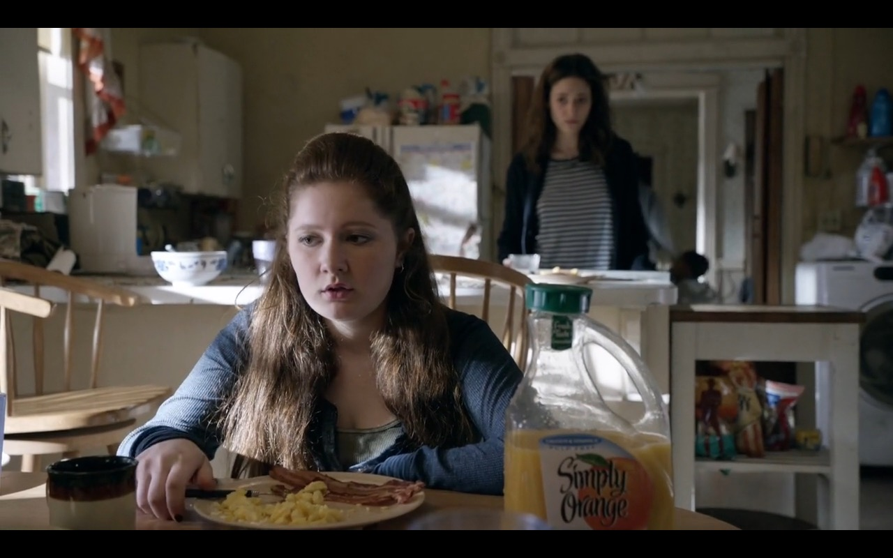 Simply Orange - Shameless TV Show Product Placement