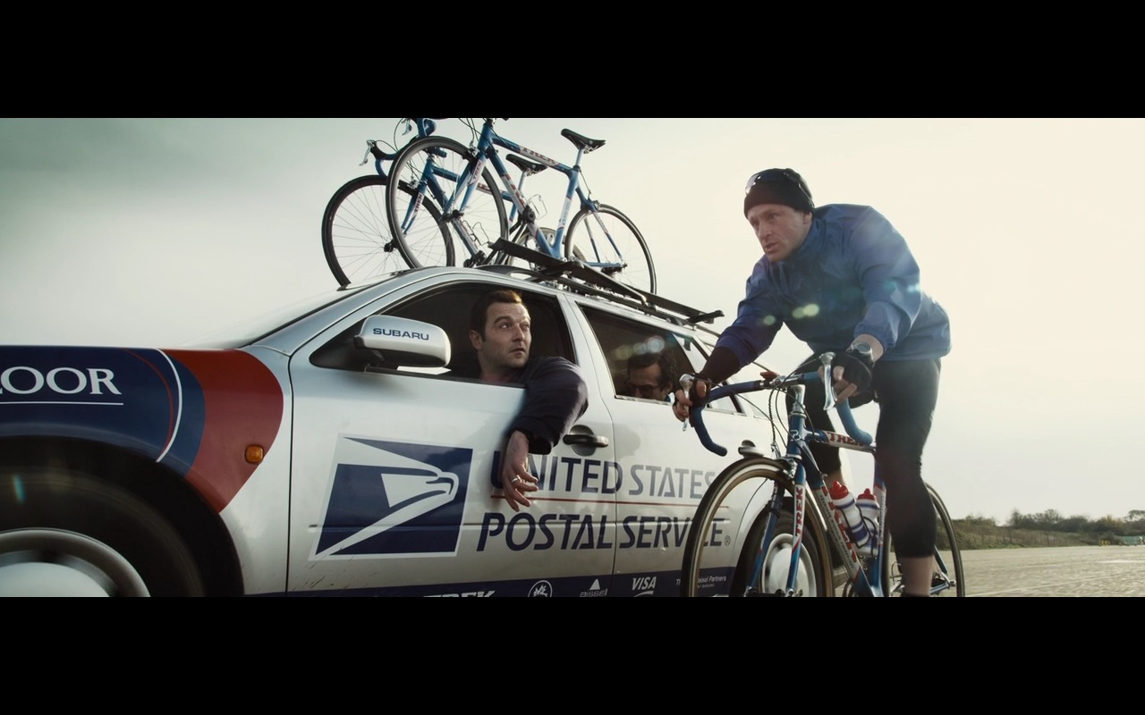 United States Postal Service, Subaru and Trek – The Program (2015) Movie Product Placement