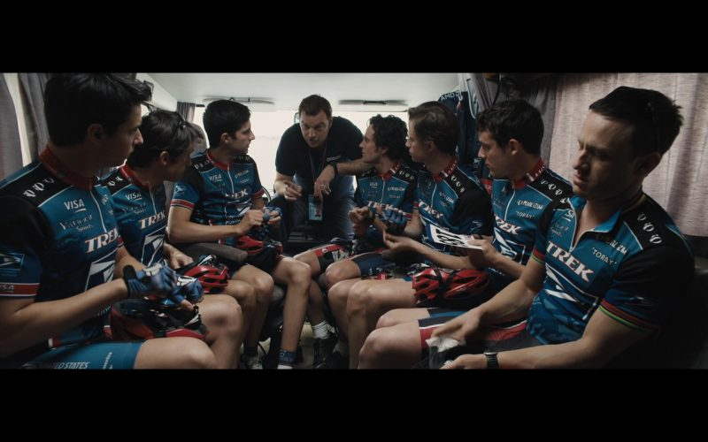 Visa, Yahoo, Trek and Toray – The Program (2015) Movie Product Placement