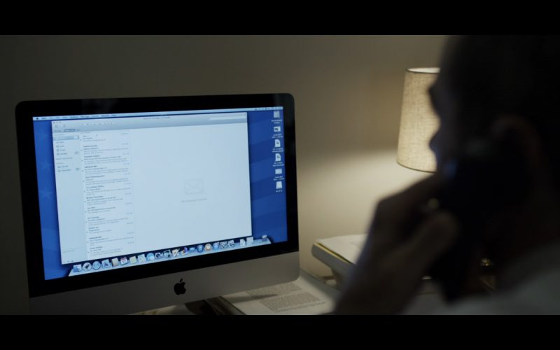 Apple iMac 21.5-Inch - House Of Cards TV Show Product Placement