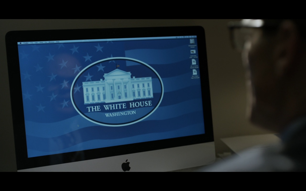 Apple iMac Computer - House Of Cards TV Show Product Placement