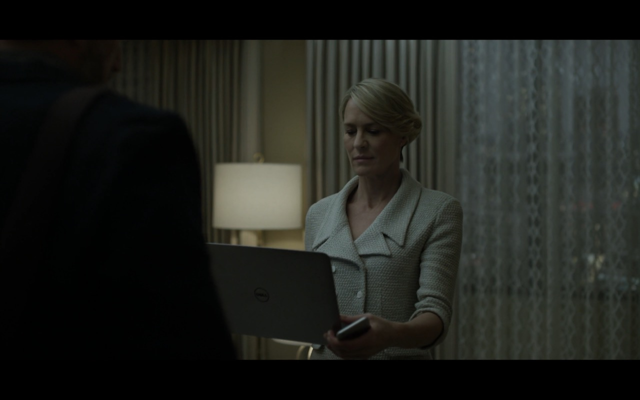 Dell Laptop - House Of Cards TV Show Product Placement