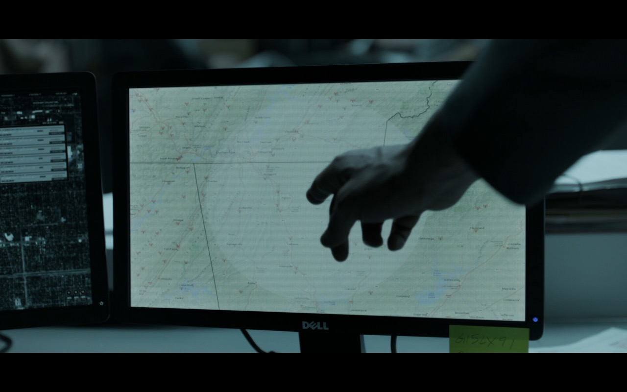 Dell Monitors - House Of Cards TV Show Product Placement