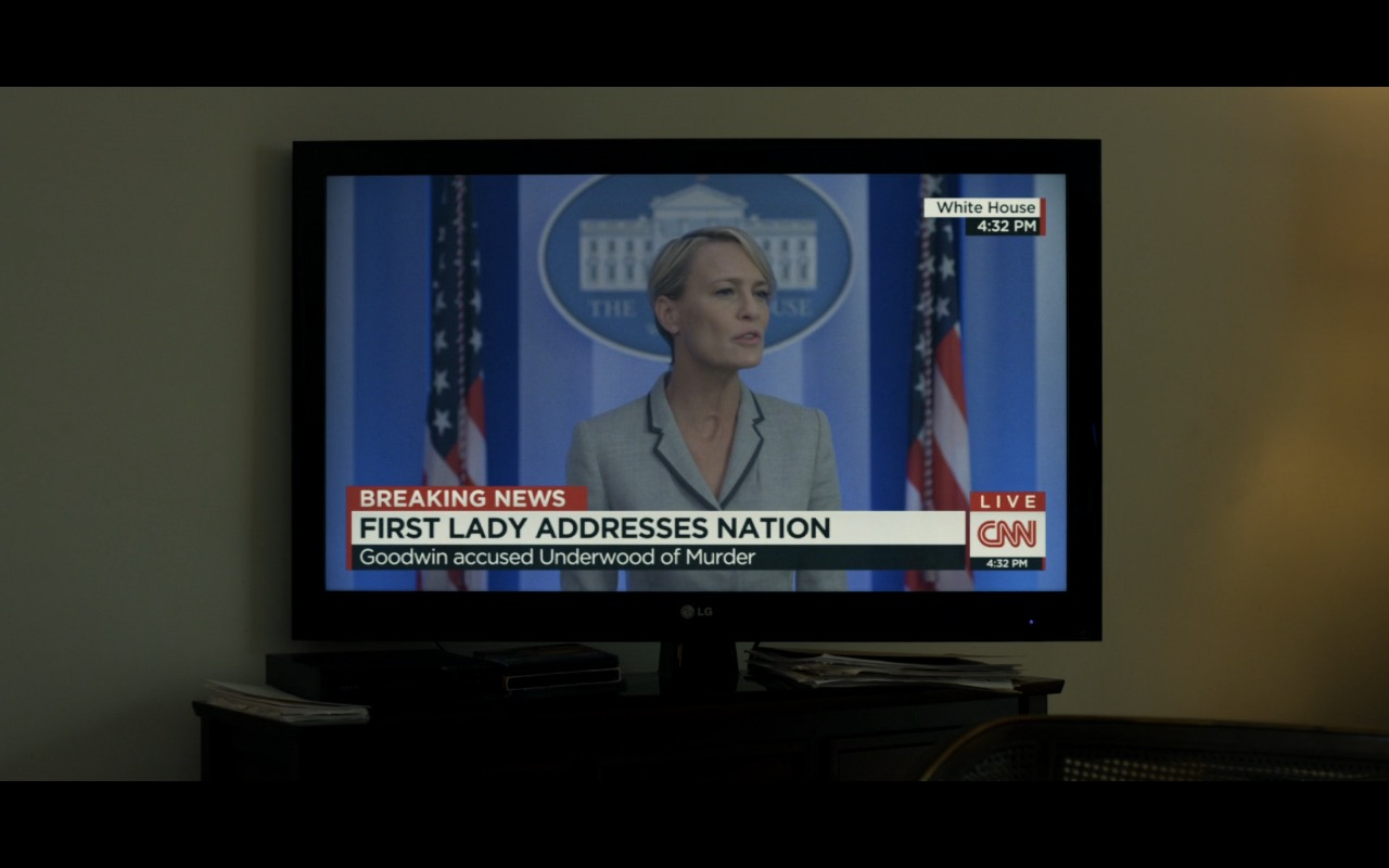 LG TV – House Of Cards TV Show Product Placement