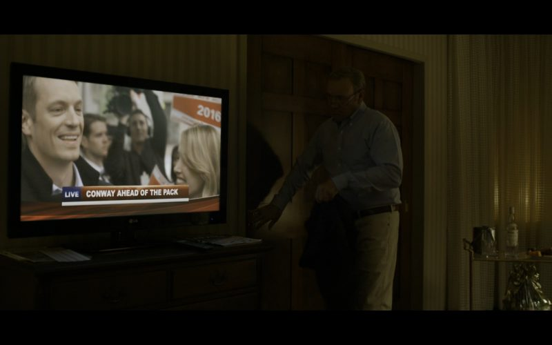 LG TV - House of Cards TV Show Product Placement