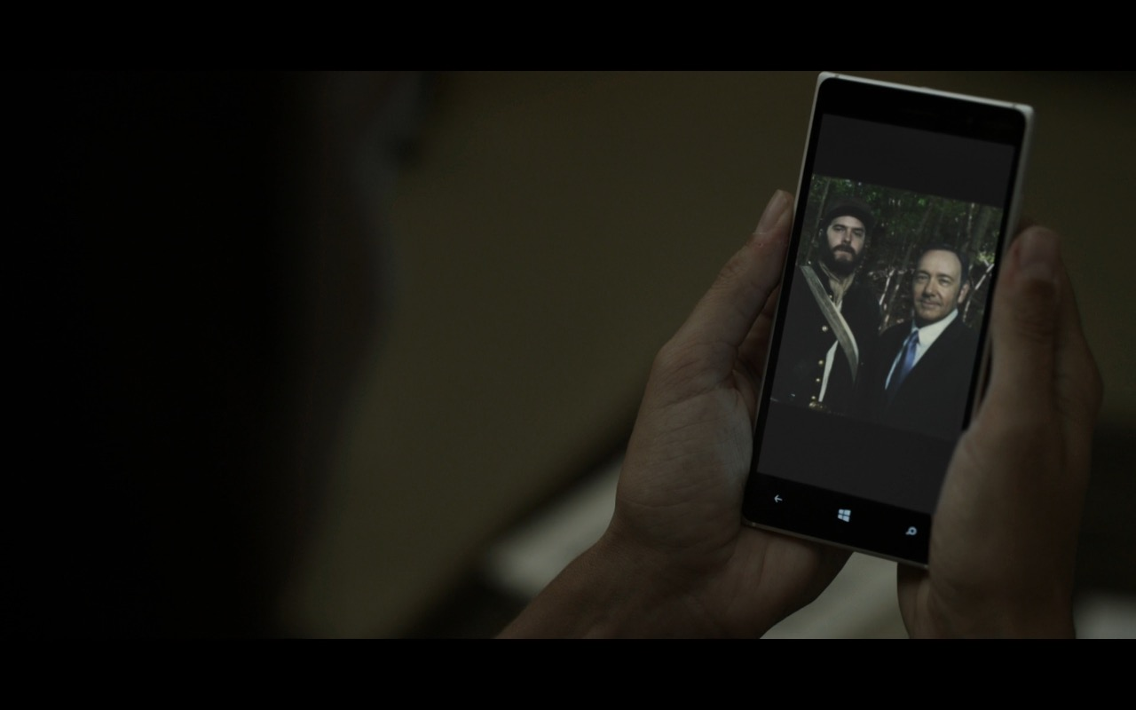 Microsoft Lumia - House Of Cards TV Show Product Placement
