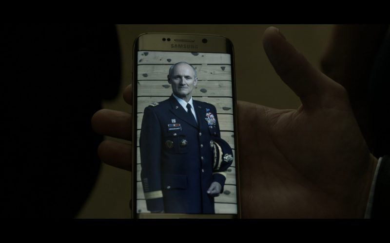 Samsung Galaxy S6 EDGE Android Smartphone - House Of Cards TV Show Product Placement