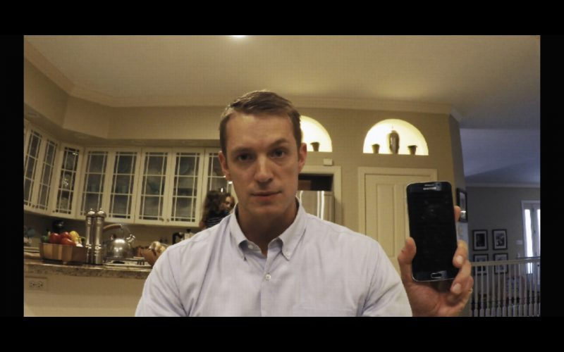Samsung Galaxy S6 edge Android OS Phone - House Of Cards TV Show Product Placement