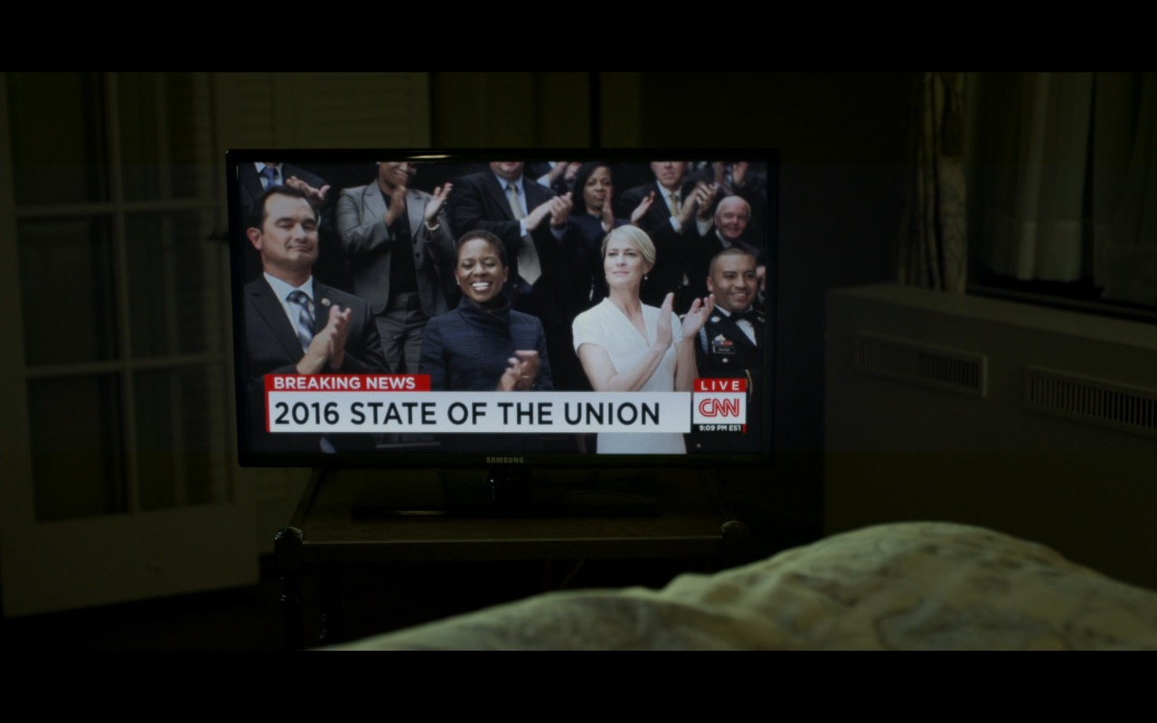 Samsung TV - House of Cards TV Show Product Placement