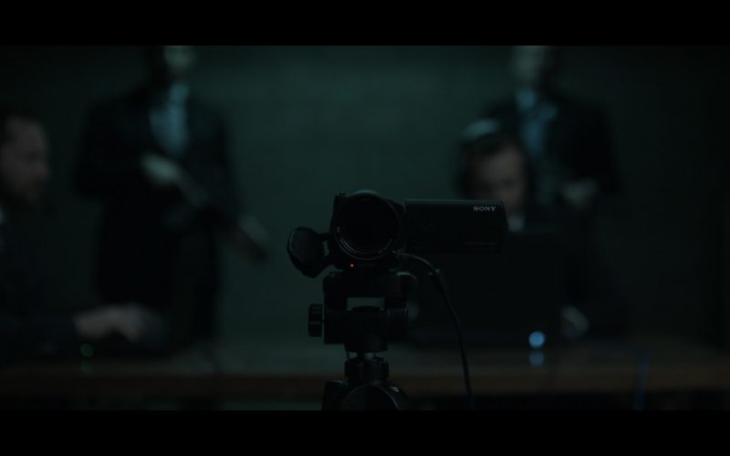 Sony Camcorder - House Of Cards TV Show Product Placement