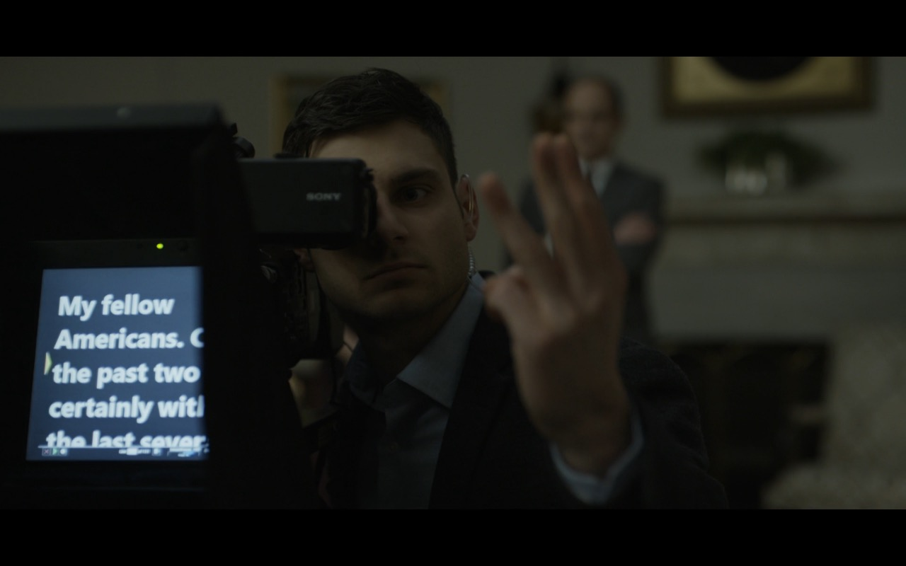Sony Video Camera - House Of Cards TV Show Product Placement