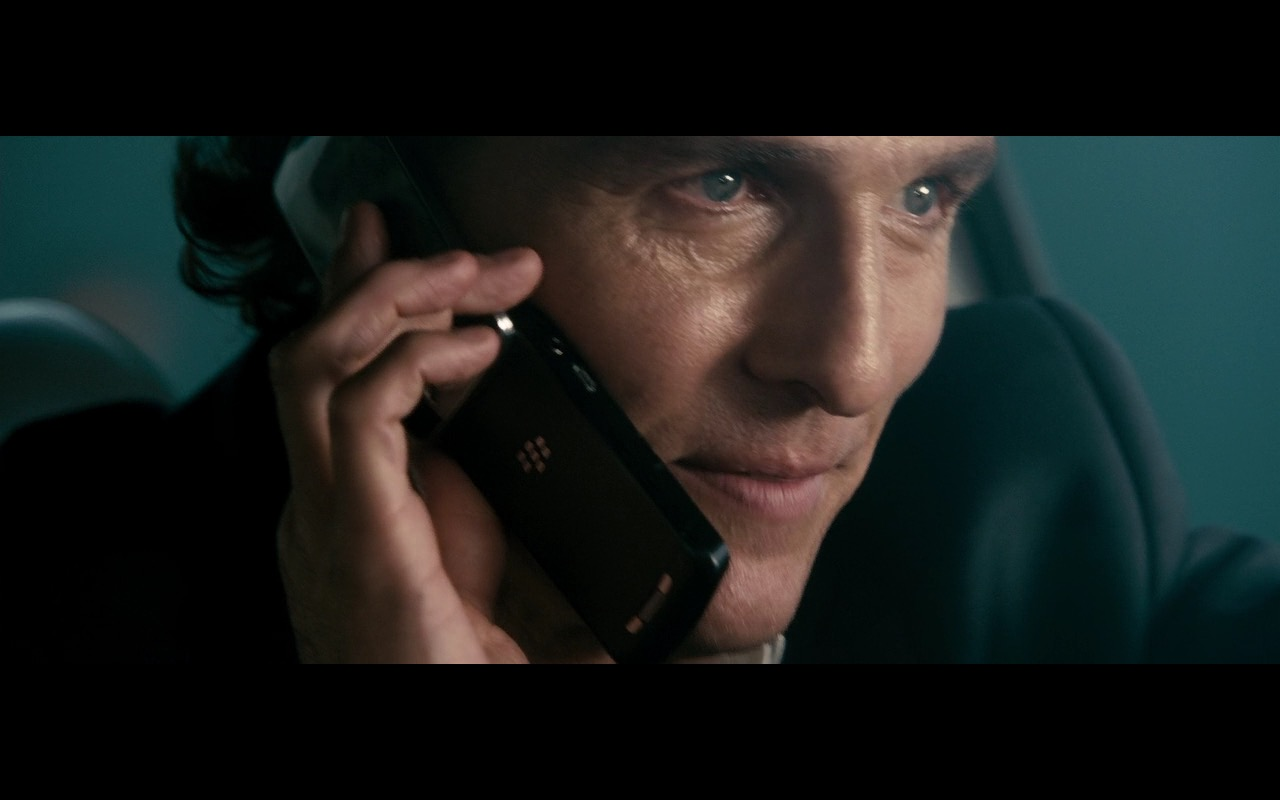 Blackberry Phone - The Lincoln Lawyer (2011) Movie Product Placement