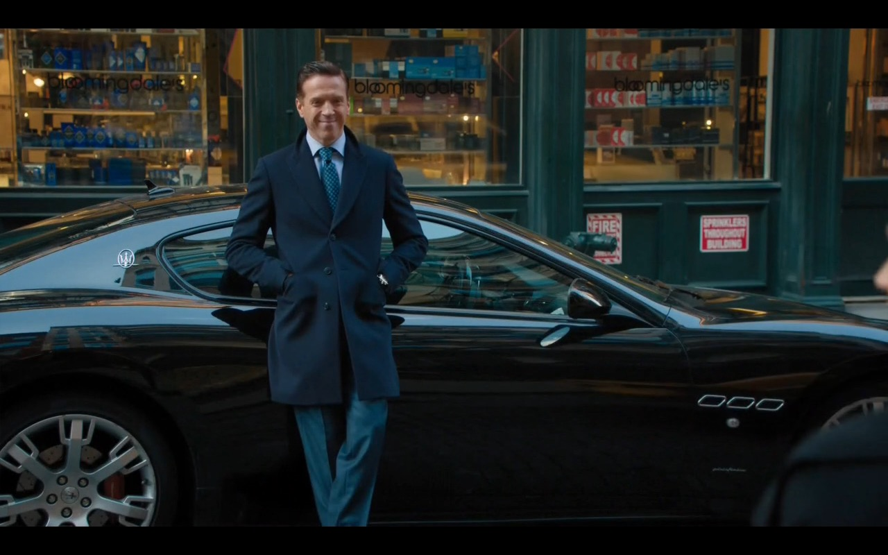 Bloomingdale's and Maserati - Billions - TV Show Product Placement