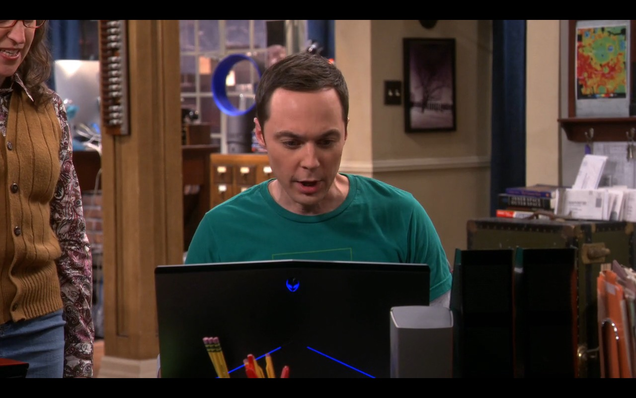 Dell Alienware – The Big Bang Theory TV Show