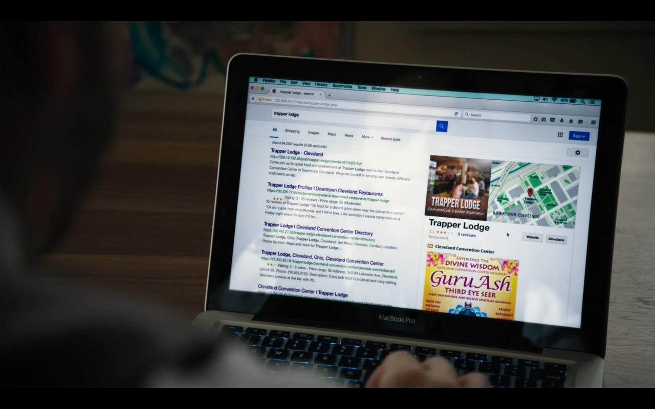 Mozilla Firefox Mac Book Pro
