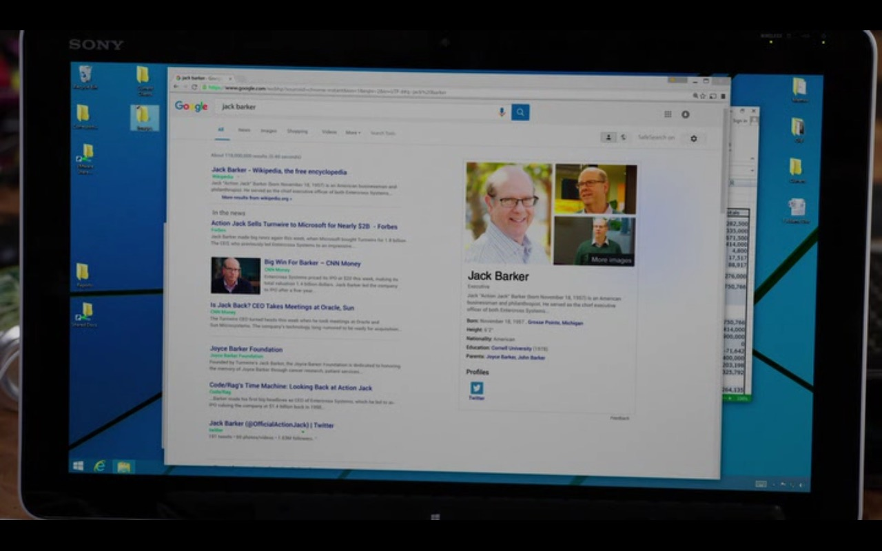 Google and Microsoft Windows - Silicon Valley - TV Show Product Placement