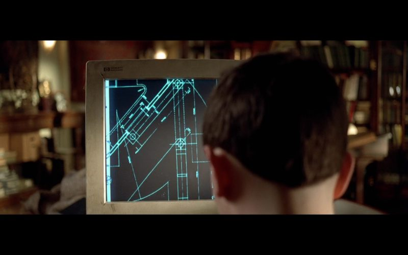 HP Monitor – The Fifth Element 1997 Product Placement Movie (1)